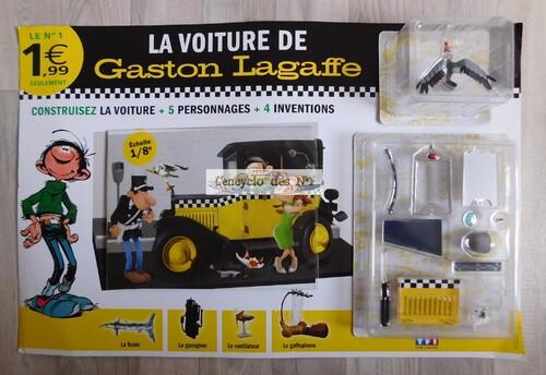 N° 1 Construisez la Fiat 509 de Gaston Lagaffe - Test