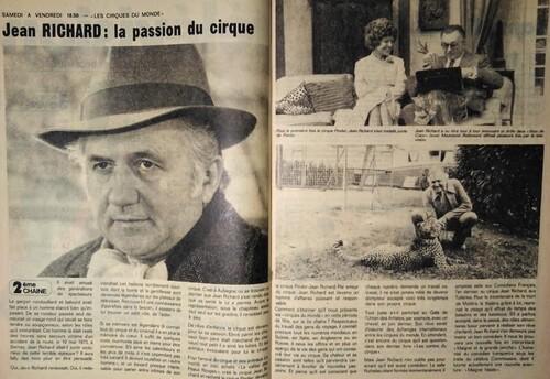 """article paru dans """"Chez nous"""" n°51 su 19/12/1974 ( archives Vincent Bouderlique)"""