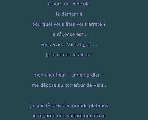 Argence : 2 Texte de M .Georges  Retour au bercail .