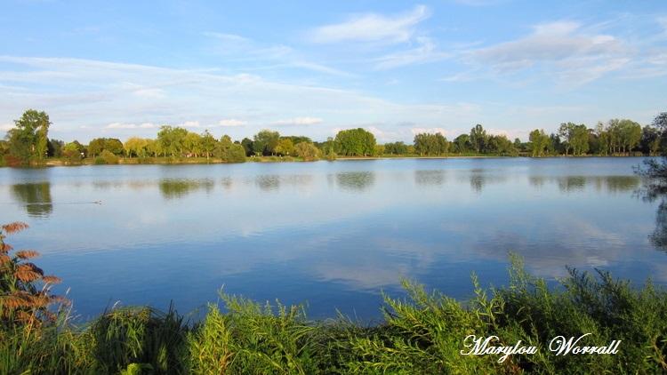 Reichstett (67) : Le lac de Neubiltz