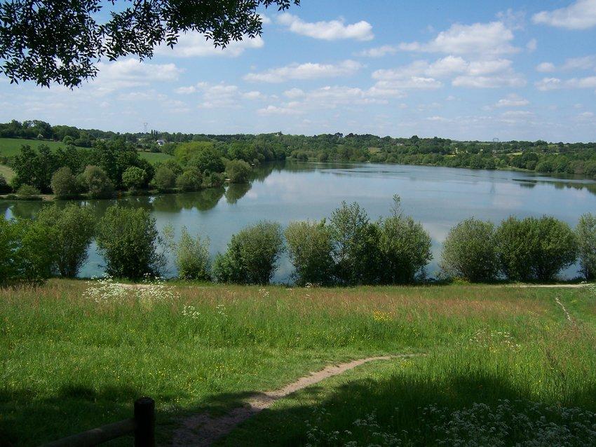 Le lac de Beaulieu Coueron