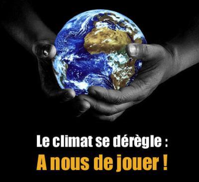 Réchauffement climatique : URGENCE !