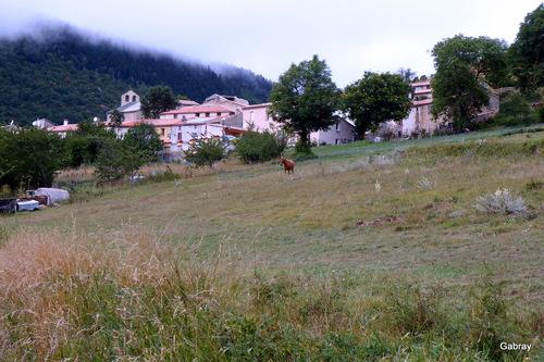 Le Clat: village d'Occitanie