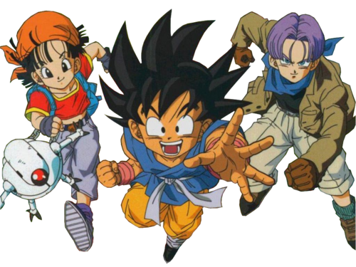 Render Pan, Sangoku et Trunks