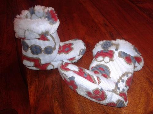 chaussons  bottillons d'hiver