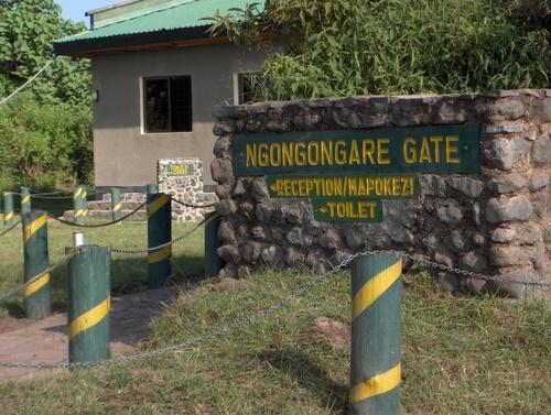 Entrée du Parc National d'Arusha
