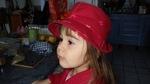 La miss avec son chapeau