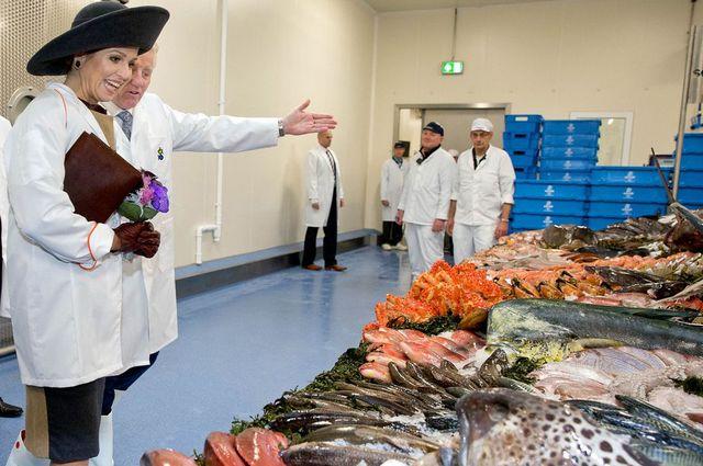 Maxima à la poissonnerie