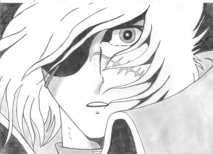 Albator muzun - Coloriage albator ...