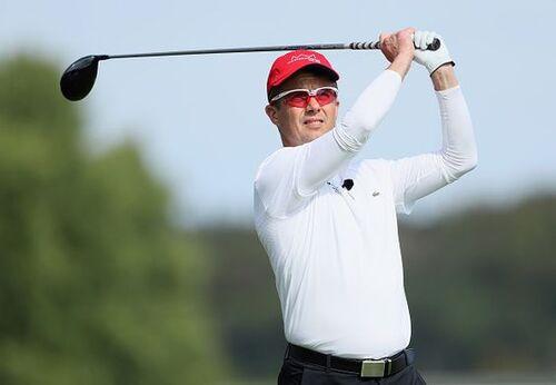 Fred le roi du vélo devient le roi du golf