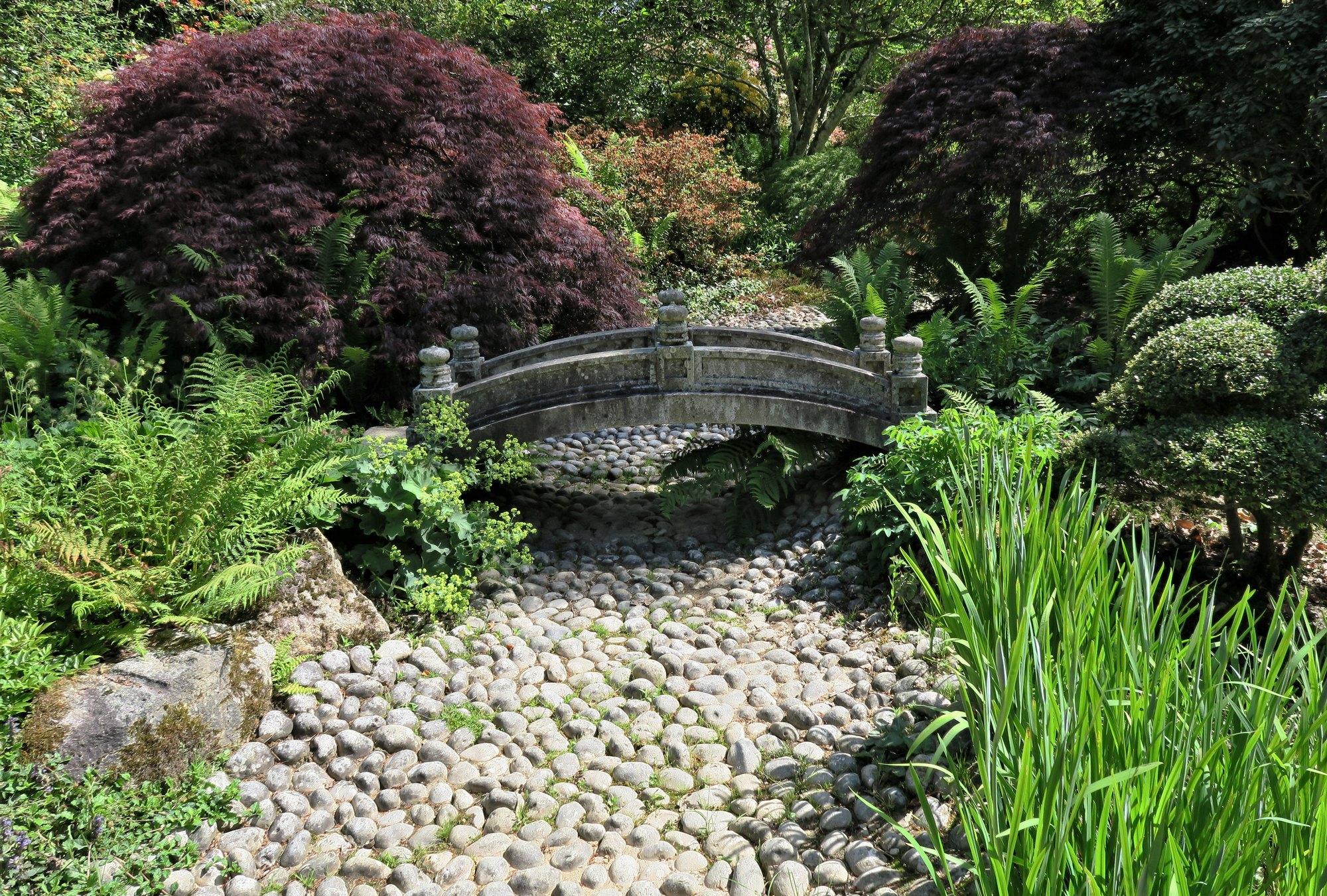 Parc Botanique de Haute-Bretagne : Jardin du Soleil Levant