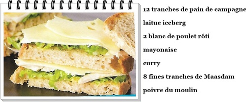 Club sandwich au Maasdam