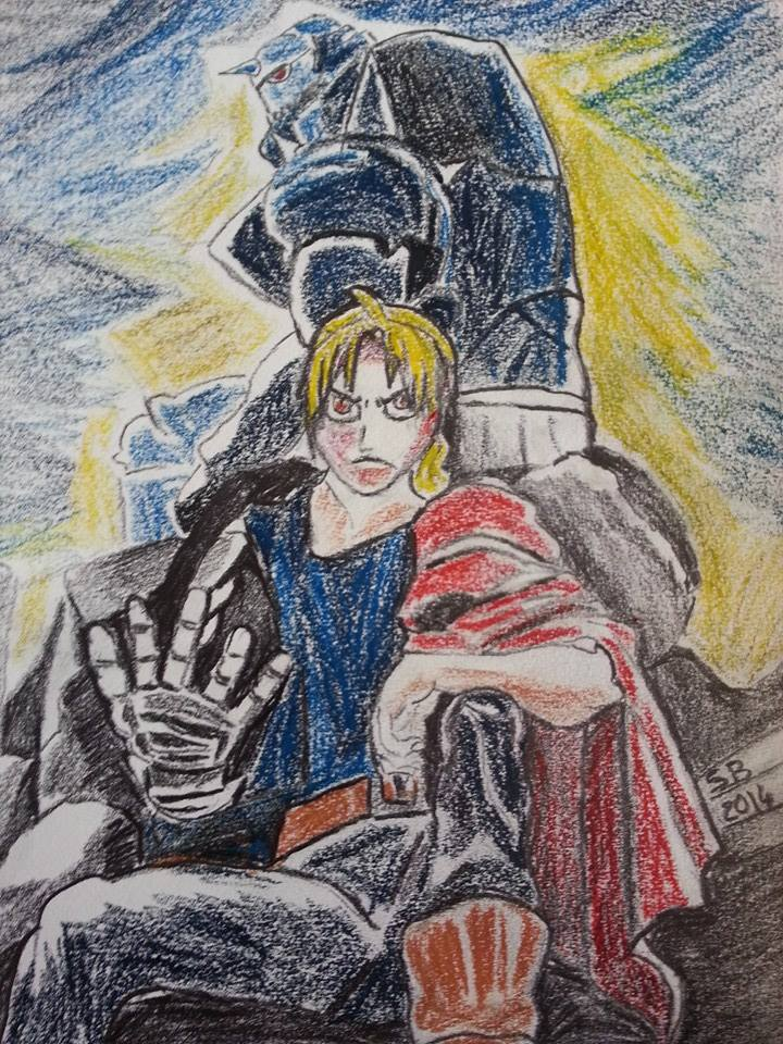 Fan art FMA Brotherhood