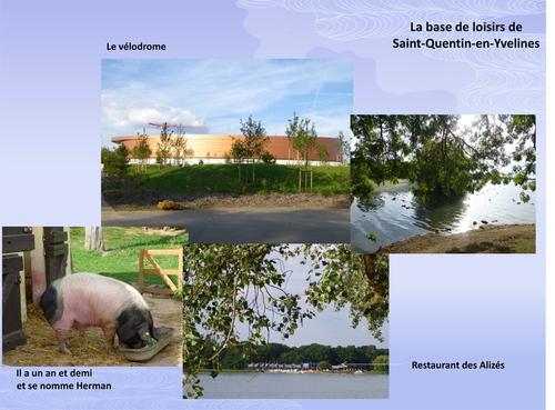 Autour du vélodrome de Saint-Quentin en Yvelines