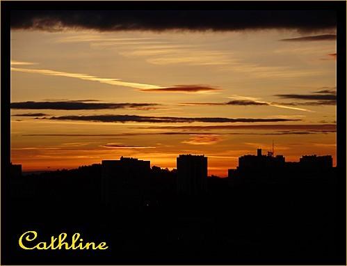 LEVER DE SOLEIL SUR NIMES 1er avril 2011