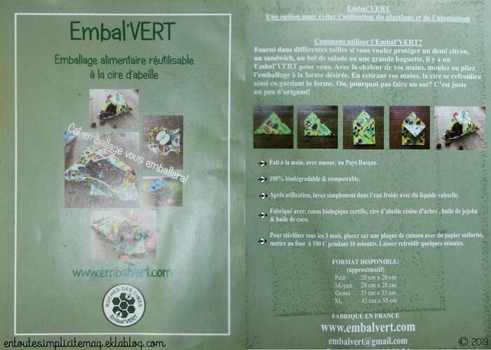 Les Bee Wraps : une alternative écologique aux emballages nocifs et polluants