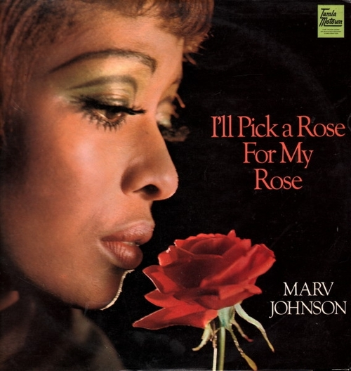 "Marv Johnson : Album "" I'll Pick A Rose For My Rose "" Tamla Motown Records STML 11111 [ UK ]"