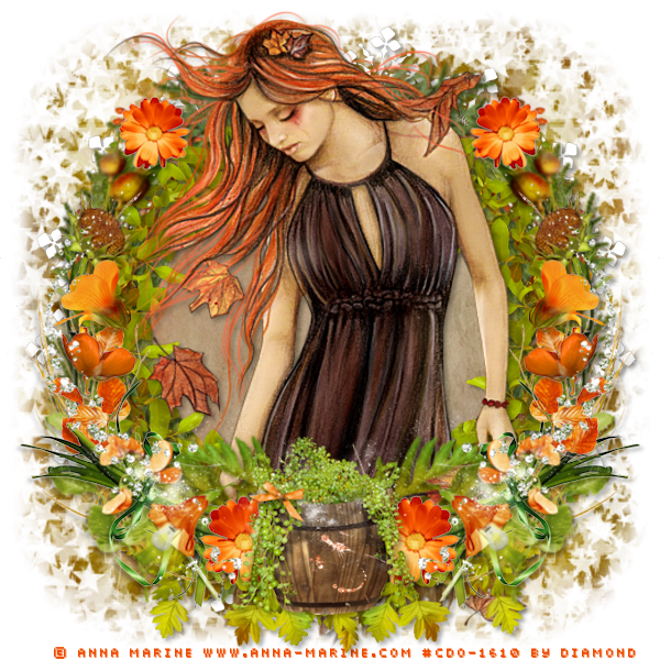 "Tutoriel ""Orange Autumn"" de Ziscadesign"