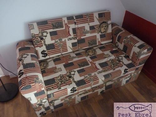 Sauvetage d'un canapé