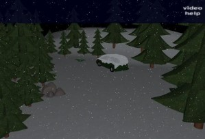Frozen car escape