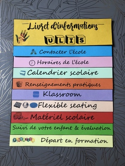 Livret d'informations de type flipbook