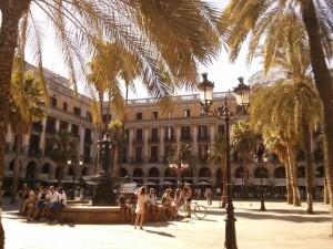 Que faire a Barcelone place Reial