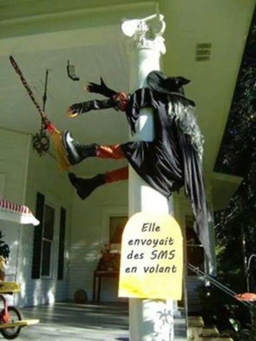 La communication et Halloween ....