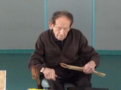 Albert Banchet à l'école de la Biolle
