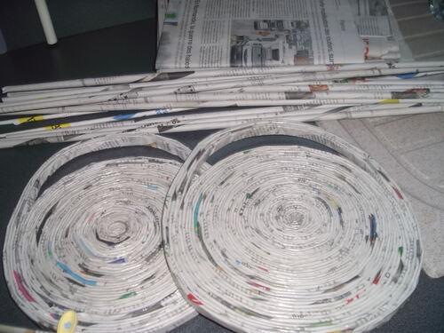 Recyclage papier journal