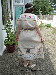 robe indienne brodée 03