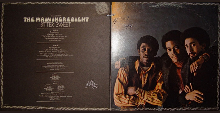 "The Main Ingredient : Album "" Bitter Sweet "" RCA Victor Records LSP-4677 [ US ]"