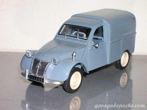 Citroën 2CV fourgonnette AZU 1958