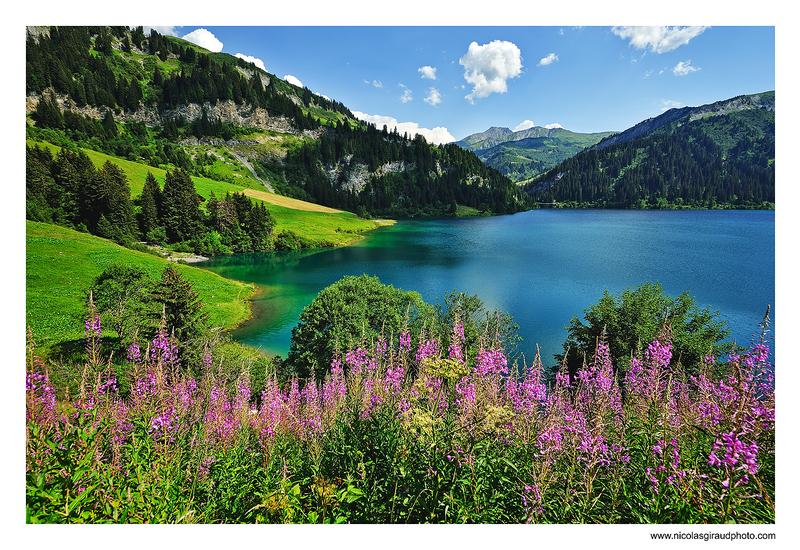 Beaufortain du lac Presset au lac d'Amour