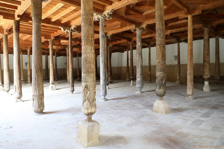 La mosquée Djouma ou mosquée du Vendredi, Khiva