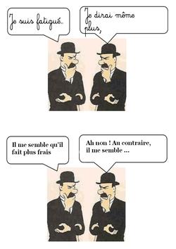 Les synonymes et les contraires avec les Dupondt