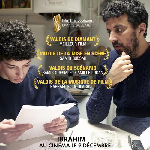 Ibrahim de et avec Samir Guesmi remporte 4 prix au Festival d'Angoulême ! - Le 9 décembre 2020 au cinéma