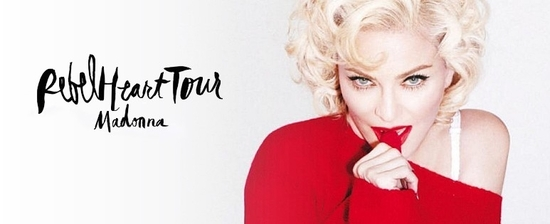 rebel heart tour red