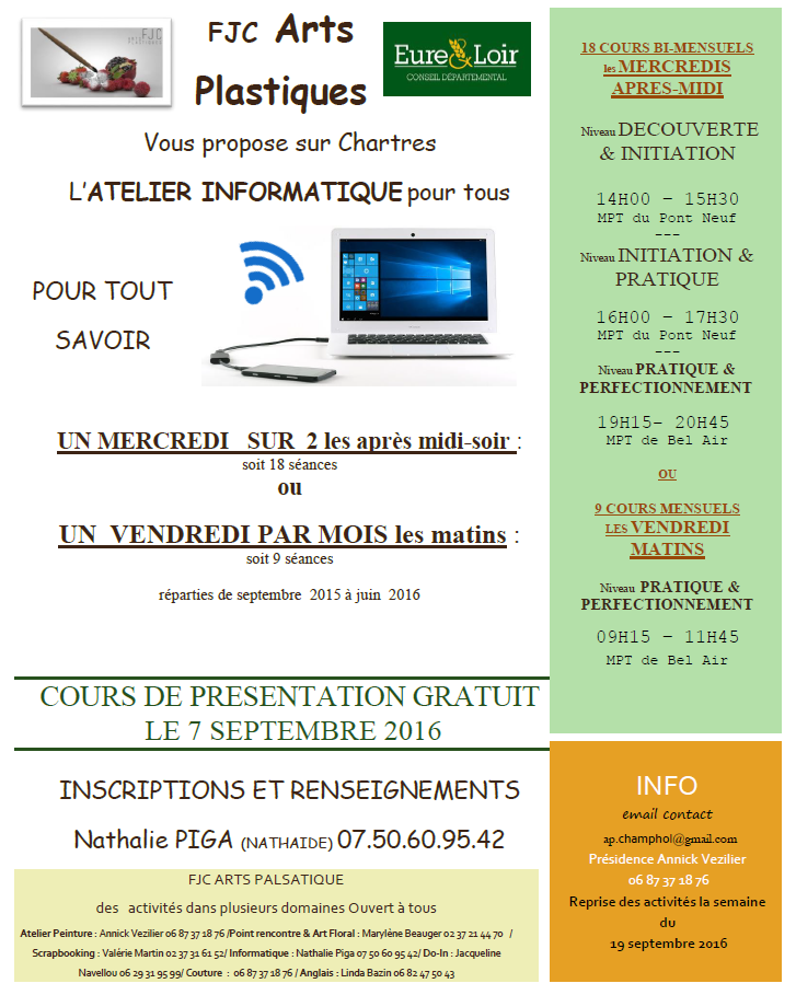nathaide informatique septembre 2016