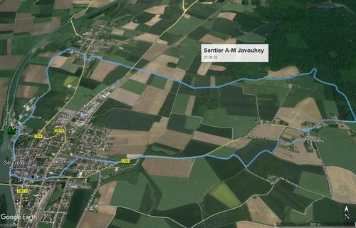 """Sentier Anne-Marie Javouhey"" - Mercredi 22 août 2018"