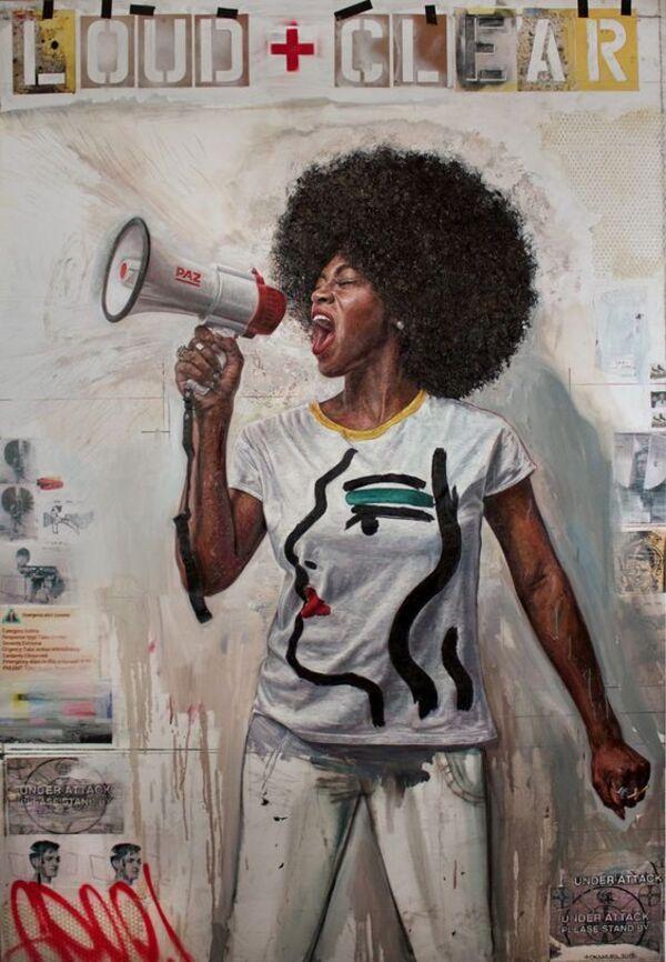 Des portraits saisissants mettant en vedette de puissantes femmes de couleur peintes par l'artiste Tim Okamura