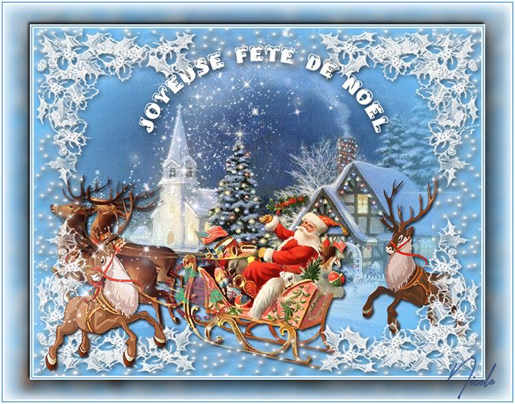 59. Versions Joyeuse fête de Noël 2019