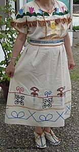 robe indienne brodée 02