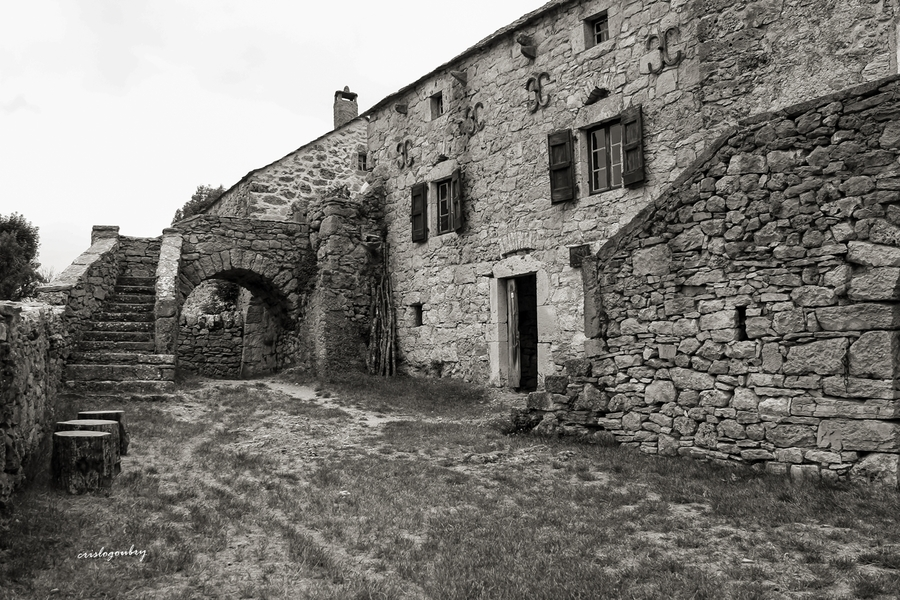 La ferme Caussenarde (une autre époque)