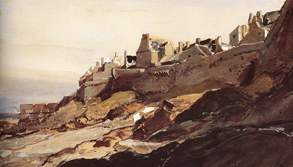 St Malo 4 /  1832-la pêche à la morue -Louis Garneray