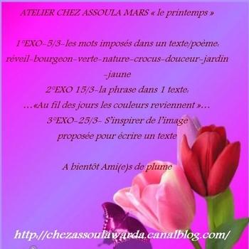 La chorale de tulipes....