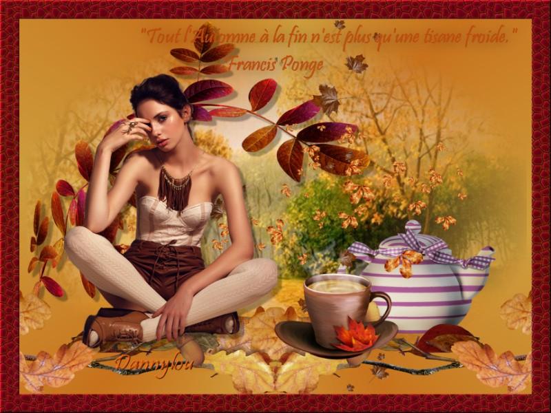 Ce Jeudi quelques créations d'automne faite sur forum