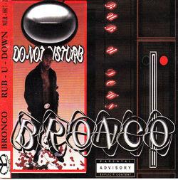 BRONCO - RUB-U-DOWN (EP 2000)