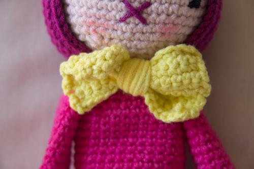 Mylène : Doudou crochet Joséphine