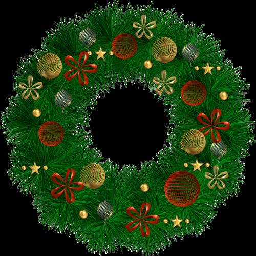 Couronnes de Noël Série 2