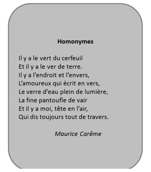 Homonymes de Maurice Carême